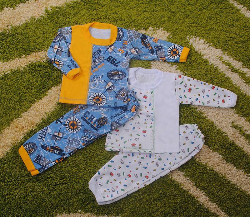 Пижама для мальчика(начес) разные цвета