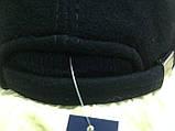 Бейсболка синяя из драпа с вязанным козырьком  57 58, фото 3
