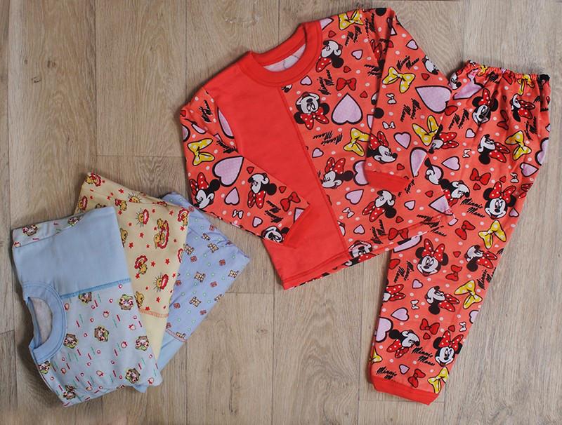 Пижама для девочки ( начес) разные цвета и рисунки
