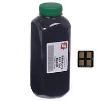 Набор черный тонер и чип АНК для samsung clp-300 бутль 120г black (1500210)