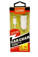 Автомобильное зарядное устройство ldnio car charger dl-c12 с кабелем micro usb