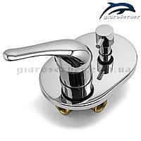 Змішувач для душу і ванни прихованого монтажу SV-02 на 2 режиму., фото 1