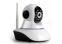 Поворотная камера видеонаблюдения 1.0 МП с ИК подсветкой и Wi-Fi