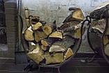 Дровница для печи, стальная, фото 3