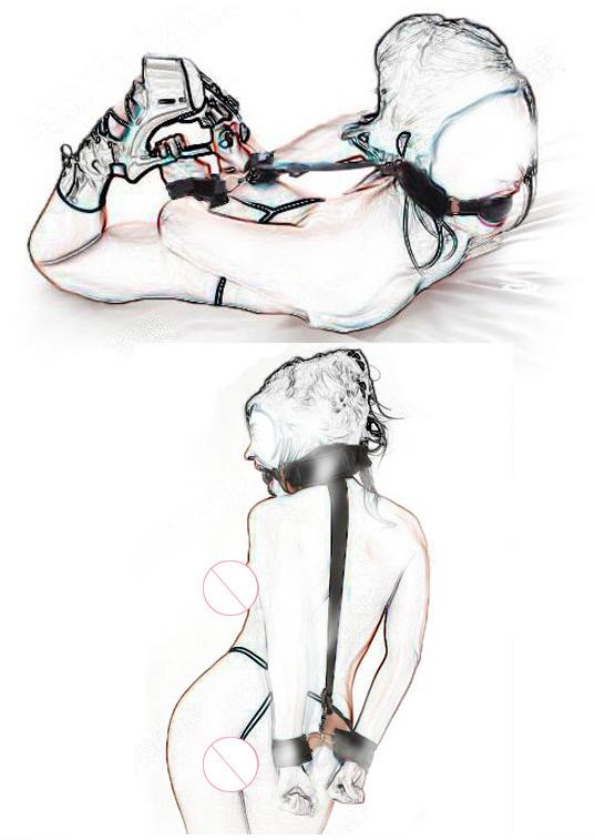 РАСПРОДАЖА Кляп + наручники, фото 1