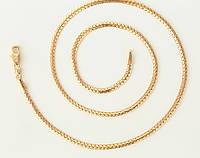 Цепочка позолота плетение Жгут 45 см