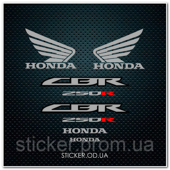 Набор Наклеек на мотоцикл  HONDA CBR 250R