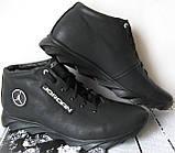 Jordan зимние кроссовки! Мужские кросовки натуральная кожа обувь в стиле Джордан мех, фото 2