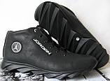 Jordan зимние кроссовки! Мужские кросовки натуральная кожа обувь в стиле Джордан мех, фото 7