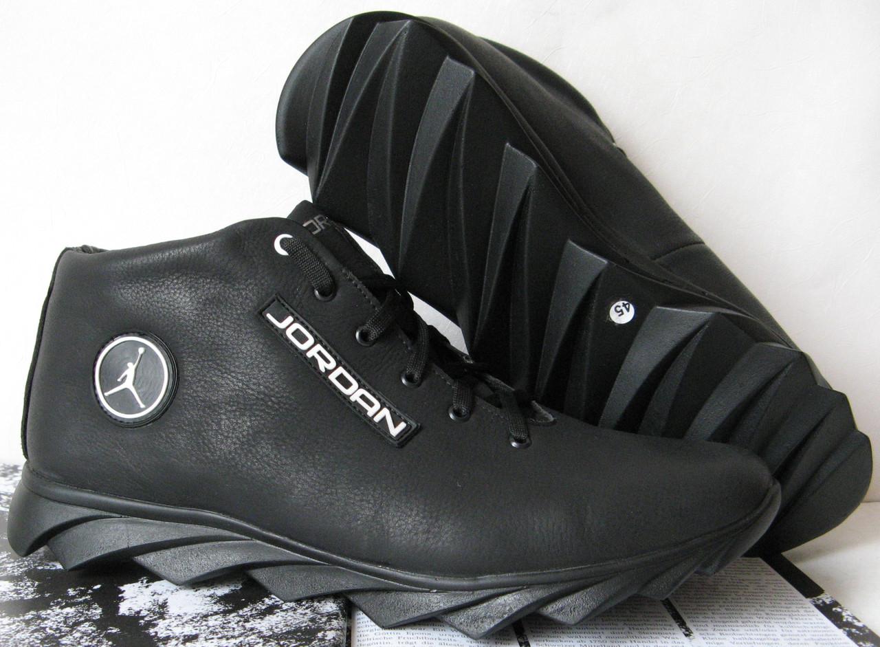 af55ac4d Jordan зимние кроссовки! Мужские кросовки натуральная кожа обувь в ...
