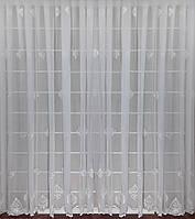 Готовая тюль Легранд Белая ( 3 метра)