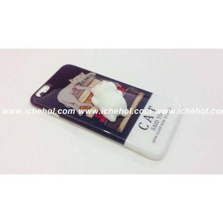 Силиконовый чехол с котиками  на iPhone 6 Plus/ 6s Plus