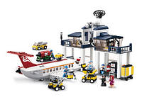 "Конструктор SLUBAN (LEGO City Airport) ""Аэропорт"" 810 деталей, M38-B0373"