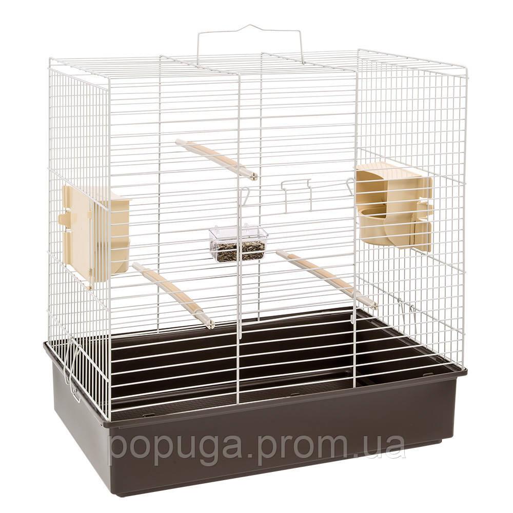 Клетка для попугаев SONIA Grey Ferplast, 61,5*40*65 см