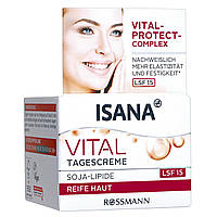 ISANA Vital Tagescreme - Дневной крем для лица, для зрелой кожи + комплекс Vital-Protect, 50 мл