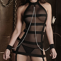 РАСПРОДАЖА Сексуальный комплектик с цепочкой, фото 1