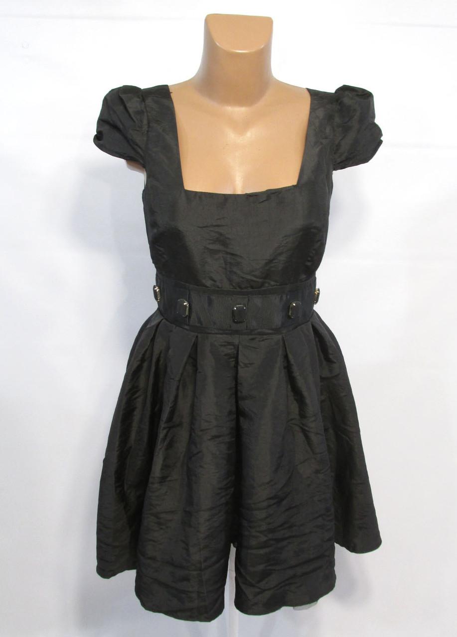Платье миди ASOS, Черное, 10 (38), Как Новое!