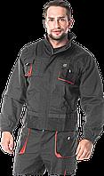 Куртка мужская рабочая FORECO-J SBP (униформа рабочая спецодежда) REIS Польша, Черный , M