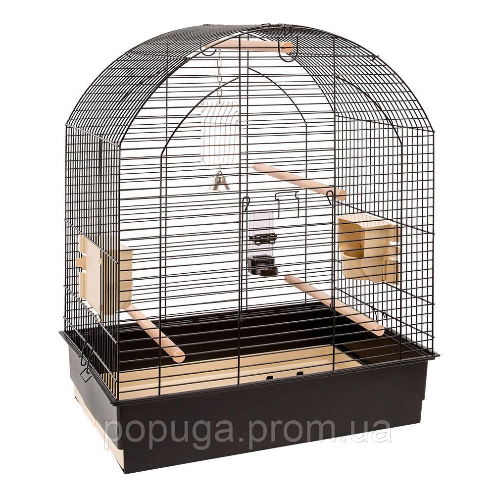 Клетка для попугаев GRETA BLACK Ferplast, 69,5*44,5*84 см