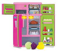Игровой набор Холодильник KEENWAY 21676, звук, свет, продукты, 31 см