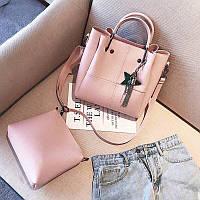 Женская удобная сумка и клатч