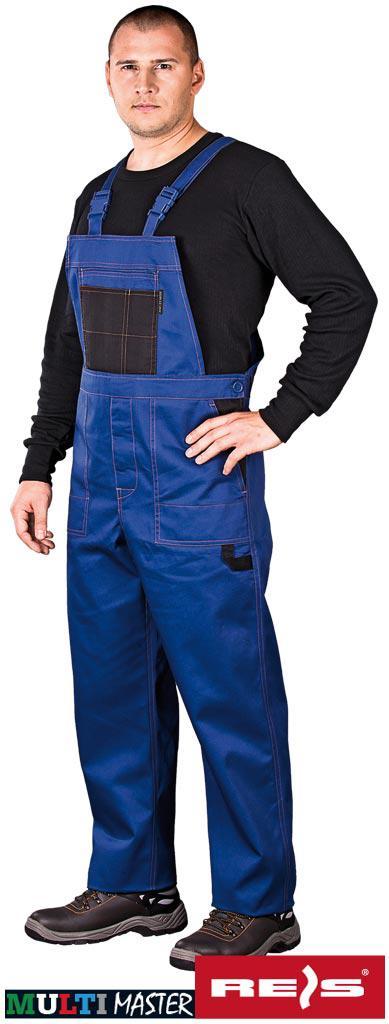 Полукомбинезон защитный рабочий MMS NB REIS Польша (роба, униформа) синий, 46