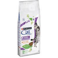 Cat Chow Special Care Hairball Control 15кг- корм для выведения шерсти у кошек