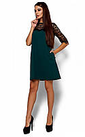 Коктельное платье Agnolia, зеленый (S, M, L)