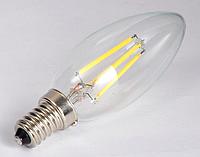 Диммируемая светодиодная лампа Filament 4Вт E27 LB-68 Dimm C37  2700K, фото 1