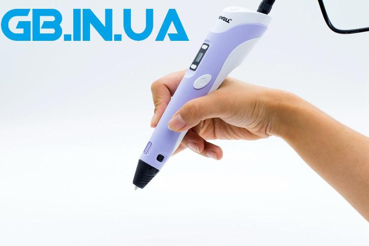 Оригинальная 3D 3д ручка MyRiwell 2 поколения RP100B c LED экраном! Pu