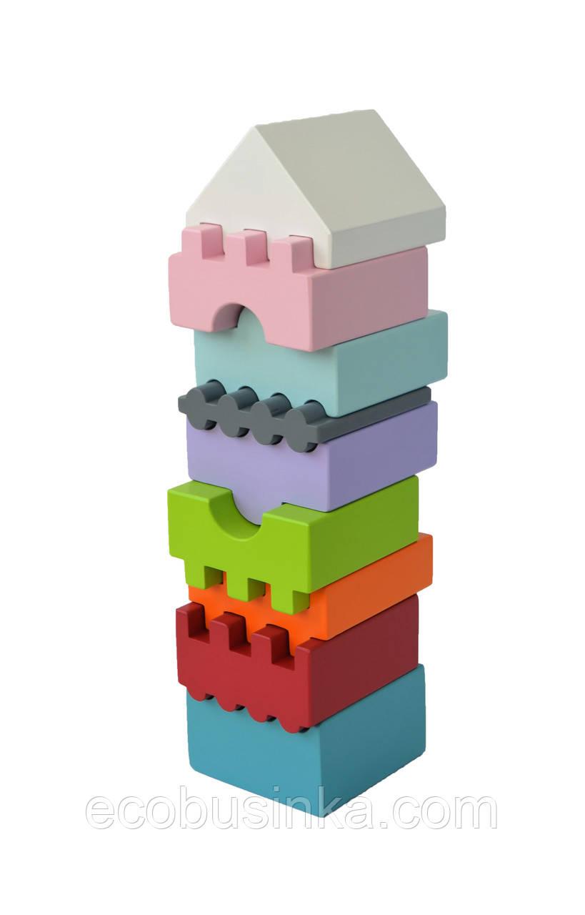 Деревянная пирамидка 2