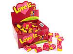 Жвачка Love is вкус яблоко-лимон (блок 100 штук), фото 2