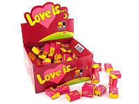 Жвачка Love is вкус вишня-лимон (упаковка 25 штук)