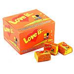 Жвачка Love is вкус яблоко-лимон (упаковка 25 штук), фото 3
