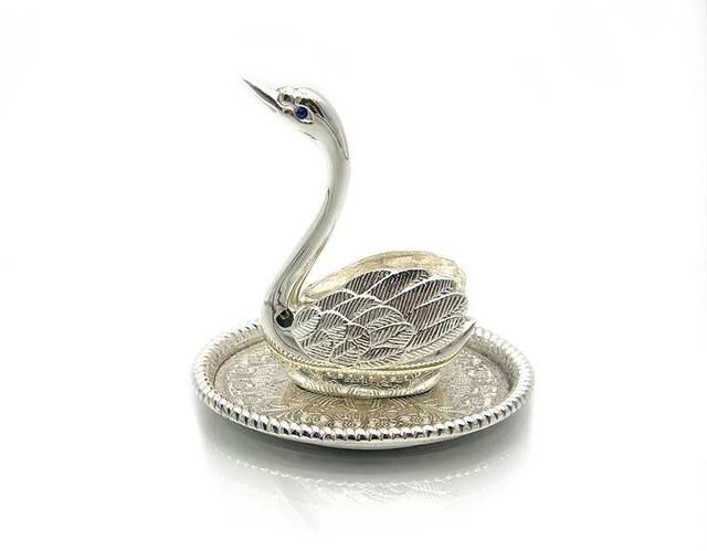 """Подставка для колец «Лебедь"""" ( два варианта)"""