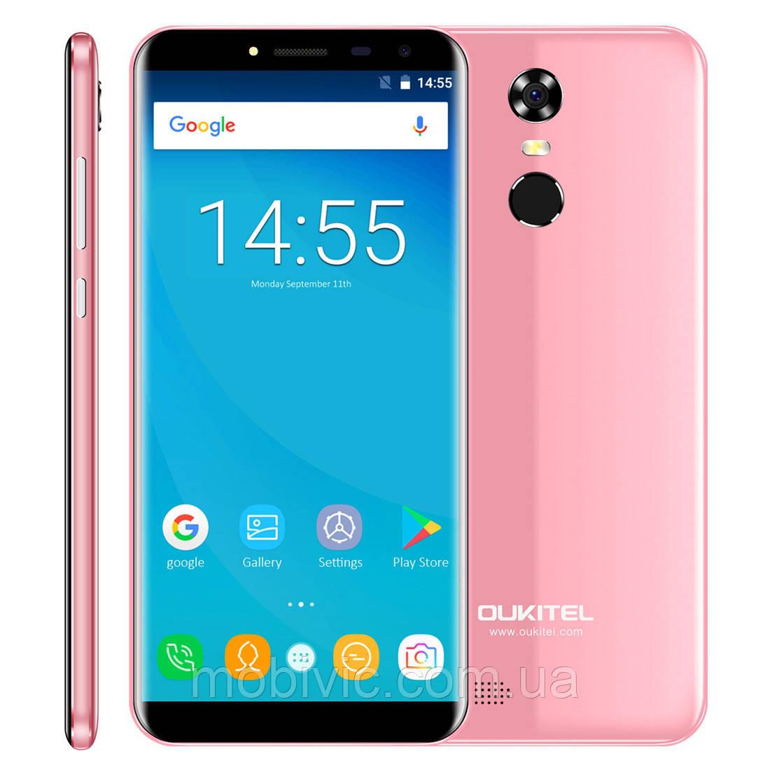 Смартфон Oukitel C8 (pink) оригінал - гарантія!
