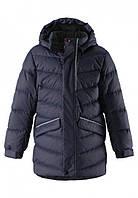 Зимняя куртка пуховик для мальчика Reima JANNE 531295-6980. Размер 116., фото 1
