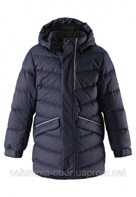 Зимняя куртка пуховик для мальчика Reima JANNE 531295-6980. Размер 116.