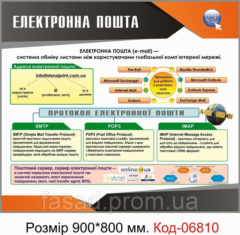 Стенд пластиковий Код-06810