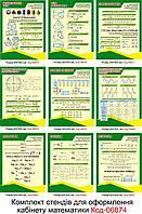Cтенди для кабінету математики Код-06874