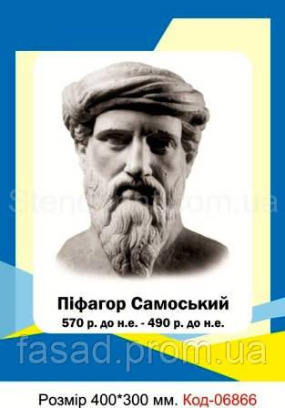 Стенд шкільний (Портрет) Код-06866