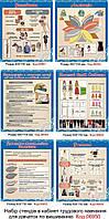 Набір стендів в кабінет трудового навчання (для дівчаток) Код-06950