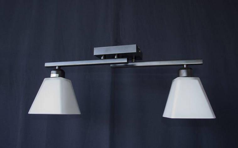 Люстра на 2 лампочки  P3 - 1129-2c (BK+CR+MK), фото 2