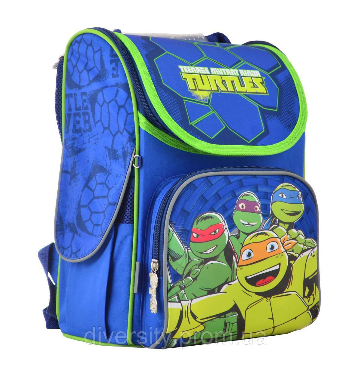 """Ранец каркасний  H-11 """"Turtles"""" , серия """"Classic"""" 555120"""