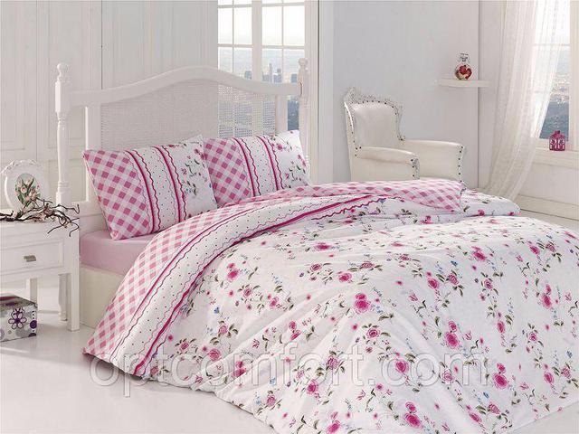 Комплекты постельного белья евро размера