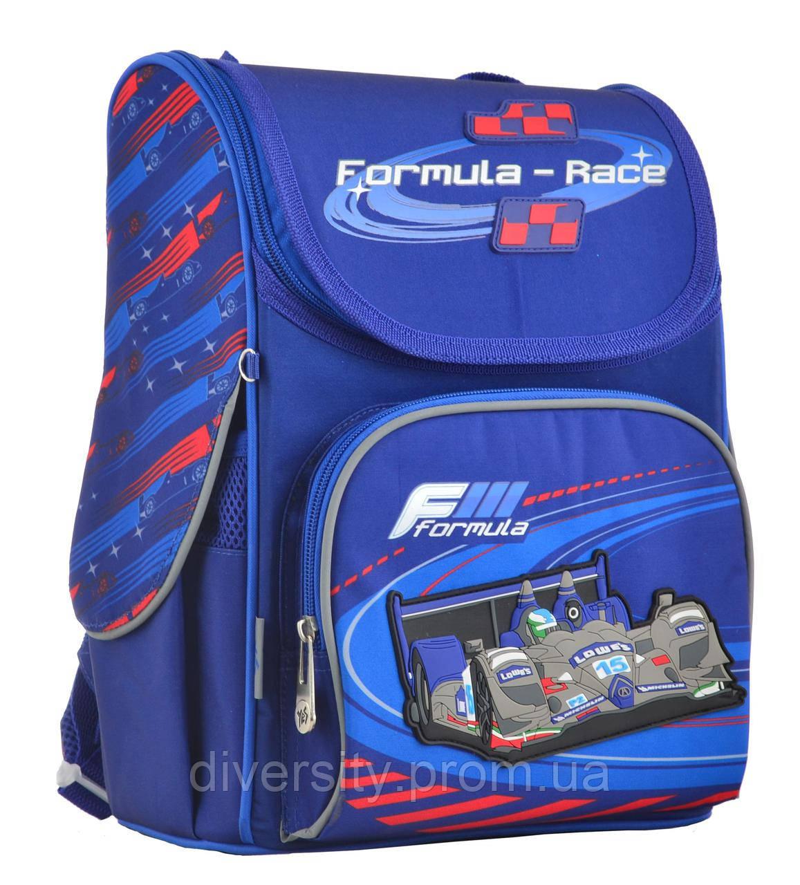 """Ранец каркасний  H-11 """"Formula-race"""" , серия """"Classic"""" 555142"""