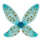 Крылья Феи голубые 45х70 см