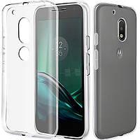 Прозрачный Slim чехол Motorola Moto G4 Plus XT1642 (0,3 мм)