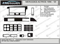 Накладки на панель MB ACTROS 1996-2000