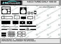 Накладки на панель IVECO TURBO DAILY 1991 - 1999